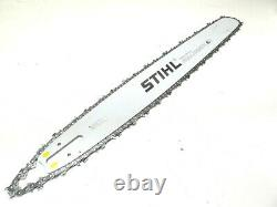 New OEM STIHL MS 461 Chainsaw Saw 25 Bar, Chain #3003 000 8830