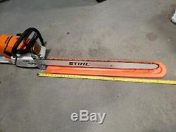 New stihl chainsaw MS 661c With 36 Inch Bar