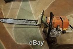 Nice Cleanish! Stihl MS460 MAGNUM Chainsaw Good Pressure, Parts/Repair