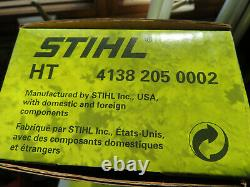 OEM POLE SAW GEARHEAD +12 inch Bar and Chain FOR STIHL HT 4138 205 0002