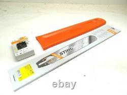 OEM STIHL Chainsaw Saw 20 Rollomatic ES Bar, Chain, Bar Cover #3003 000 8822