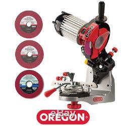 Oregon Chainsaw Grinder Sharpener For Stihl Husqvarna Echo Chain Saws Chainsaw