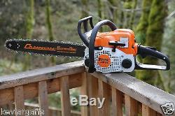PILTZ Stihl MS170 HOT SAW 18 inch bar Perfect CHAINSAW