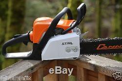 PILTZ Stihl MS170 HOT SAW 18 inch bar Perfect CHAINSAW