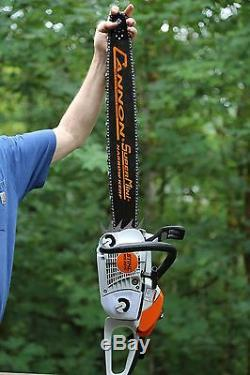 PILTZ Stihl MS201C HOT SAW 20 inch Cannon bar and Chain Perfect CHAINSAW
