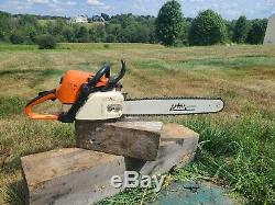 PORTED! STIHL MS 390 chain saw With Pop Up Piston 20 inch FAST SHIPPING