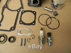 Piston Cylinder 44.7mm Gasket Set Big Bore For Stihl Chainsaw 026 026pro Ms260