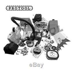 Repair Parts Kit for Stihl MS660 Engine Cylinder Carburetor Flywheel Fuel Tank