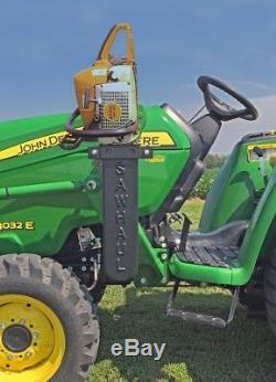 SAWHAUL Chainsaw Mount Holder ATV UTV Tractor For Stihl, Husqvarna All Brands 20
