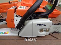 STIHL 026 PRO PROFESSIONAL CHAINSAW With CASE MINT ORIGINAL HARDLY USED