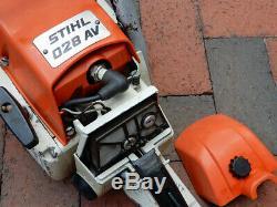 STIHL 028 AV Chainsaw 16 Gas Powered