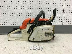 STIHL 028 AV SUPER 311Y CHAIN SAW with 23 BLADE & CHAIN ONLY FOR PARTS