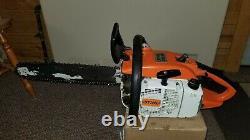STIHL 032AV 032 AV Chainsaw Chain Saw 16 bar and chain runs good used chainsaw