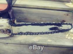 STIHL 038 AVEQ Chainsaw Chain Saw 16 inch Bar free shipping video of it running
