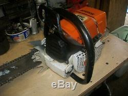 STIHL 044 MAGNUM CHAINSAW WITH 30 BAR VERY NICE SAW ms440