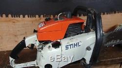 STIHL 090 HUGE 137cc CHAINSAW FULL WRAP HANDLEBAR ALL OEM MS880 088 084 AV 070