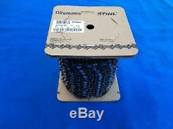 STIHL 100ft Roll of RS (Rapid Super)Chainsaw Chain 3/8 x. 063 #3621 000 1640