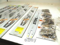 STIHL 20 CHAINSAW Rollomatic ES Bar & Chain Combo 3/8.050 72 DL CHAIN SAW