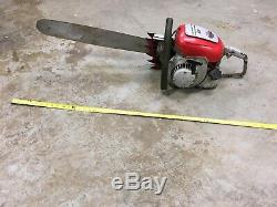 STIHL Contra Lightning G5 Chainsaw Vintage Monster Saw Runs 140psi SPARK