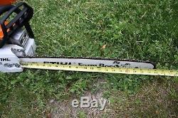 STIHL Farm Boss MS271 Chain Saw With Org. Case Very Clean MS-271 Farmboss 20
