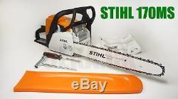 STIHL MS170 Chain saw 1.3 kw ORIGINAL 16 in (35 cm) bar