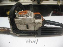 STIHL MS180C CHAIN SAW GOOD FOR PARTS or REPAIR, STUCK