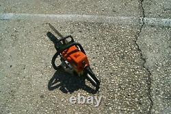 STIHL MS180c GAS POWERED CHAIN SAW EASY START WE SHIP ONLY TO EAST/CENTRAL COAST