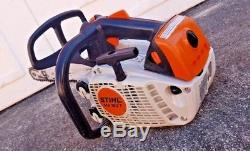 STIHL MS193T Climbing Arborist Chainsaw Top Handle With 12Bar & Chain-Great Shape