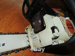 STIHL MS250 18 Chain Saw Rollomatic E Made in USA