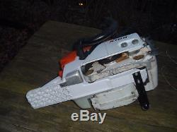 STIHL MS461 Magnum Chainsaw 77cc Dual Port Caber Rings Runs Great ms460 CLEAN