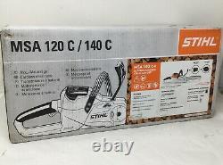STIHL MSA 120 C Battery Powered Chain Saw Kit OPEN BOX / FREE SHIPPING