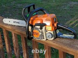 STIHL MS 180 C Good Running Chainsaw Farm Wood 180C Arborist Saw Bar & Chain