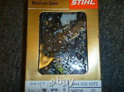 STIHL MS 460 Rescue Saw Chainsaw Chain Loop 36RDR 72 (1) 3944 005 0072 OEM New