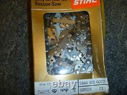 STIHL MS 460 Rescue Saw Chainsaw Chain Loop 36RDR 72 (2) 3944 005 0072 OEM New