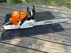 STIHL MS 461 Chainsaw Used Only Once (one tank)! Like Brand New with 25 Bar