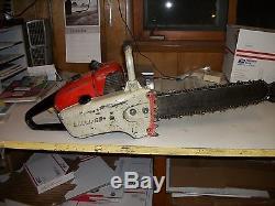 S 10 Stihl chainsaw- 17 bar & chain