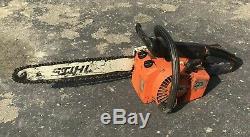 Stihl 015AV Chainsaw with Bar Chain Saw