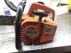 Stihl 015L Chainsaw Chain Saw 015 L Top Handle Saw with Orange Hard Case