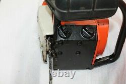 Stihl 015L Chainsaw Chain Saw 015 L Top Handle Saw with Orange Hard Case-No Work
