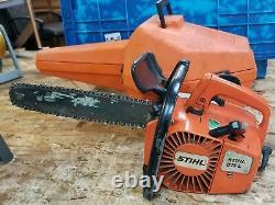 Stihl 015l 015 L Chainsaw With Carry Case! Chain Saw