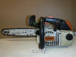 Stihl 020T Chain Saw Arborist Top Handle Running Low Hours