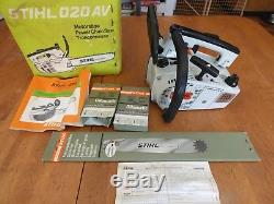Stihl 020 T chainsaw MS200T SUPER made in WEST GERMANY