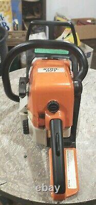 Stihl 021 chainsaw with 13 inch bar an chain nice clean saw