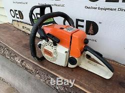 Stihl 024 AV SUPER Chainsaw OEM Vintage VERY NICE 41.6cc 18 SHIPS FAST