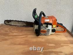 Stihl 025 Gas Chainsaw Chain Saw With New Chain