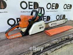 Stihl 025 Wood Boss Chainsaw 45CC 1-OWNER SAW With 18 Bar/Chain MS250 SHIPSFAST