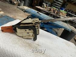 Stihl 025 Wood Boss Chainsaw All OEM- 45CC 1-OWNER SAW With 18 Bar/Chain MS250