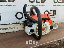 Stihl 026 Chainsaw 1 OWNER SAW LIGHTLY USED! NICE With 16 Bar & Chain FAST SHIP