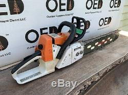 Stihl 026 Chainsaw 1-OWNER SAW NEW 20 Tsumura Lightweight Bar & Chain FAST SHIP