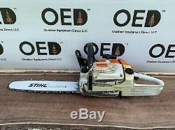 Stihl 026 Chainsaw 1-OWNER SAW With NEW 16 Bar/Chain GREAT RUNNING / FAST SHIP